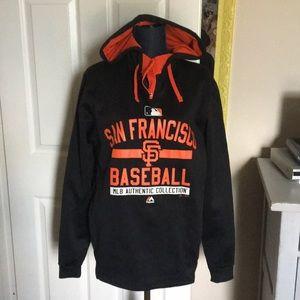 Majestic San Francisco Giants pull over sweatshirt